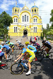 Cycling: Horizon Park Race Women Challenge in Kyiv, Ukraine Royalty Free Stock Images