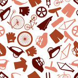 Cycling icon color pattern eps10 Stock Image