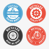 Cycling labels Stock Photos