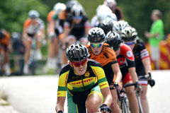 Cycling ladies Royalty Free Stock Image