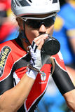Cycling ladies Stock Images