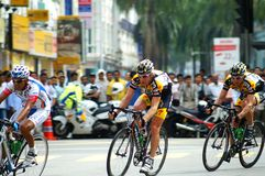 Cycling Le Tour de Langkawi Stock Images