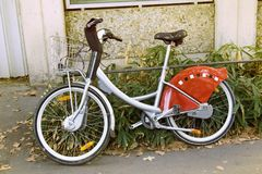 Bicycle for walks. Cycling life Stock Photography
