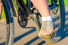 Cycling macro shooting parts Stock Images