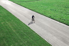 Cycling Man Stock Photography