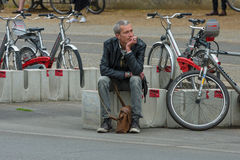 Cycling marathon in Berlin. Royalty Free Stock Photos