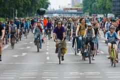 Cycling marathon in Berlin. Stock Image