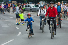 Cycling marathon in Berlin. Stock Images