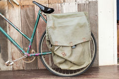 Cycling messenger bag Royalty Free Stock Images