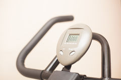 Cycling Meter Royalty Free Stock Photo