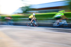 Cycling motion Royalty Free Stock Photos