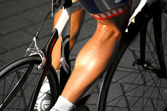 Cycling muscle Stock Photo