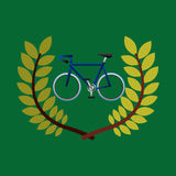 Cycling olympic games emblem Stock Images