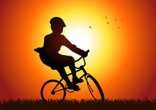 Cycling Outdoor Royalty Free Stock Photos