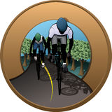 Cycling Patch Stock Photo
