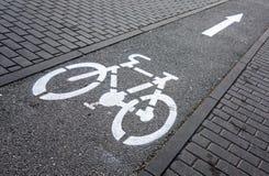 Cycling path Stock Photos
