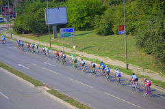 Cycling peloton Royalty Free Stock Photography