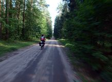 Poland on the bike. Stock Image