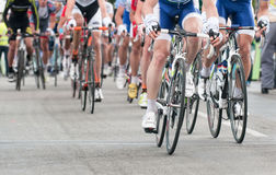 Cycling professional race Royalty Free Stock Photo