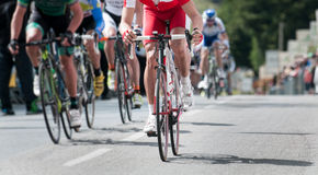 Cycling professional race. Group of cyclist at professional race Stock Photography
