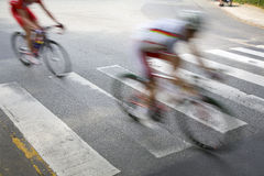 Cycling race Royalty Free Stock Photography