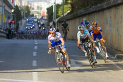 Cycling race Stock Image