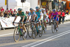 Cycling race Royalty Free Stock Photos