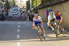 Cycling race Stock Images