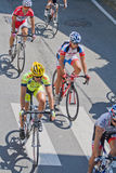 Cycling race Royalty Free Stock Images