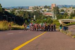 Cycling Race Climb Pe-leton  Stock Image