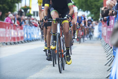 Cycling race competiton Stock Photography