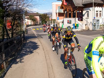 Cycling race Grand Prix of Lugano in 2015 Stock Photo