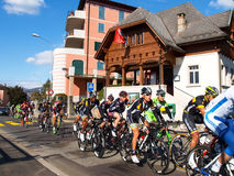 Cycling race Grand Prix of Lugano in 2015 Royalty Free Stock Photography