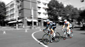 Cycling Race - Herald Sun Tour. Garmin Cervelo rider racing in the Herald Sun Tour Melbourne Australia Royalty Free Stock Photos
