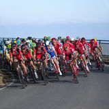 Cycling race Milan–San Remo Royalty Free Stock Photo