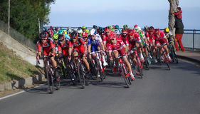 Cycling race Milan–San Remo Stock Image