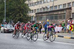 Cycling race Tour de Pologne 2014 Royalty Free Stock Photography