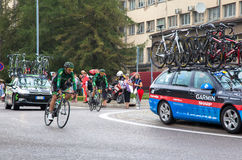 Cycling race Tour de Pologne 2014 Royalty Free Stock Photo