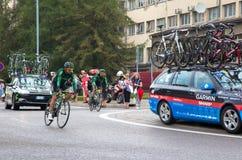 Cycling race Tour de Pologne 2014 royalty free stock photo