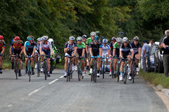 Cycling racing Stock Images