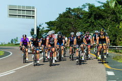 Cycling Road Champs Stock Image