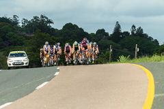 Cycling Road Champs Stock Photo
