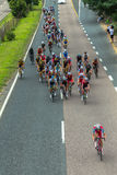 Cycling Road Champs Royalty Free Stock Image