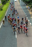 Cycling Road Champs Royalty Free Stock Photo