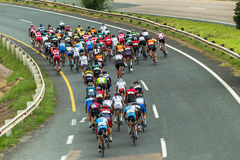Cycling Road Champs Royalty Free Stock Images