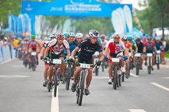 Cycling road race Stock Image
