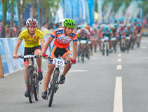 Cycling road race Royalty Free Stock Photo