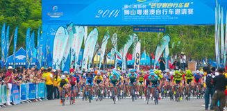 Cycling road race Stock Photography