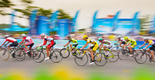 Cycling road race Royalty Free Stock Images