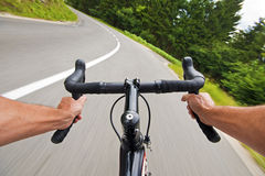 Cycling Royalty Free Stock Photography